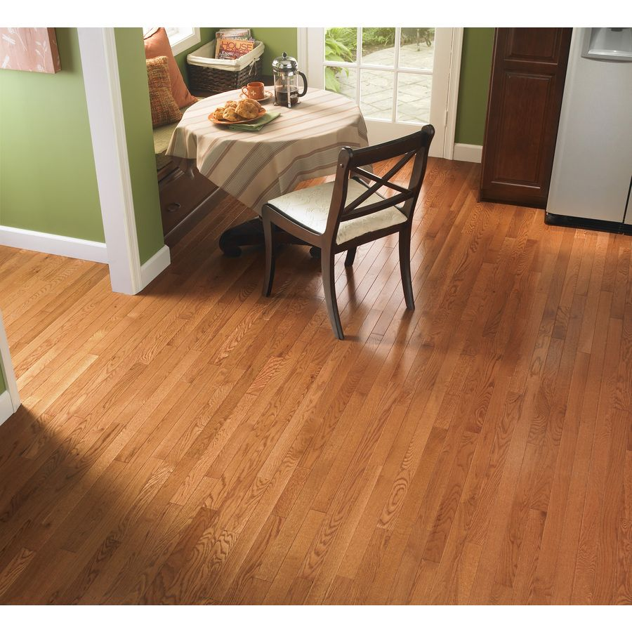 Shop mohawk remington w prefinished oak hardwood Westchester wood flooring