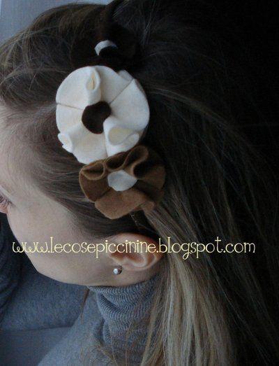 Cerchietto per capelli   Capelli, Accessori capelli, Fatto ...