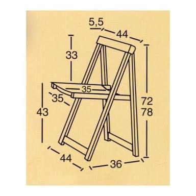 по запросу medidas de una silla plegable de madera ChairMadera is part of Folding furniture -