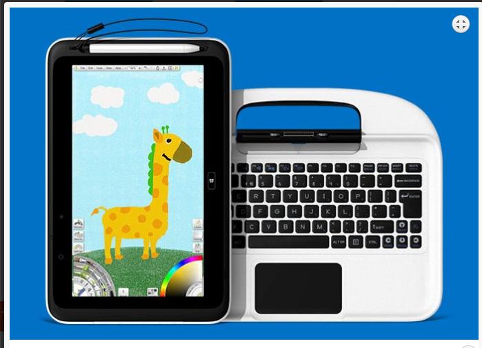 Panasonic 3E Tablet Sekaligus Notebook Untuk Pendidikan