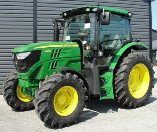 John Deere 6105R, 6115R, 6125R, 6130R North American Tractors ...