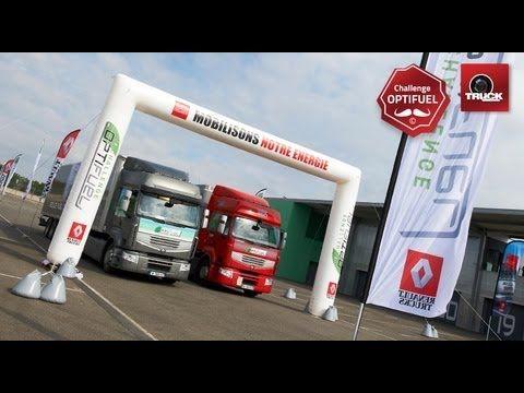 Challenge Renault Optifuel Trucks avec Truckeditions