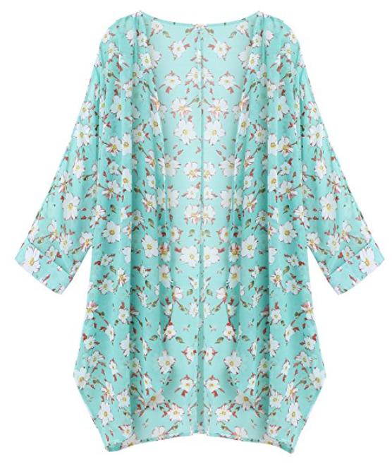 olrain-womens-floral-print-sheer-chiffon-loose-kimono-cardigan ...