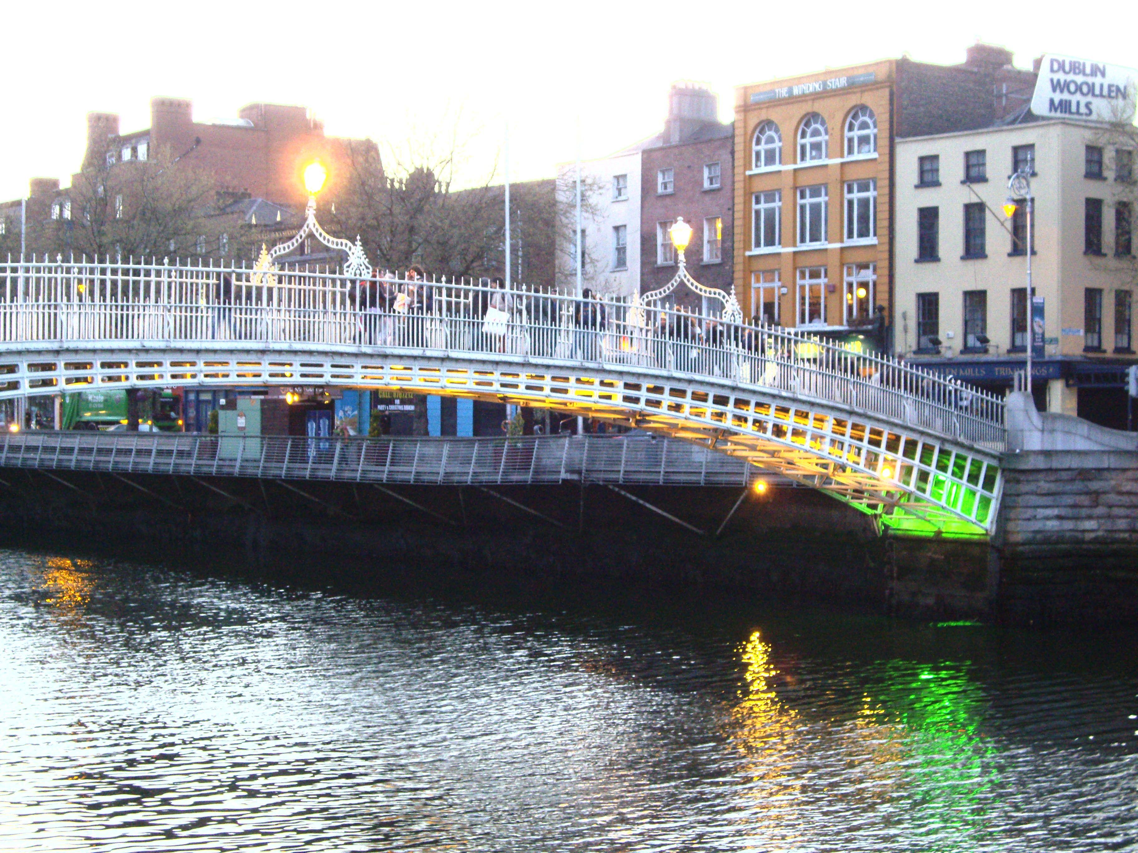 dublino ponte pedonale