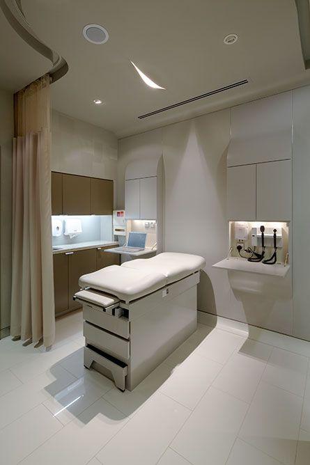 Patient Room Design: Dubai Mall Medical Centre
