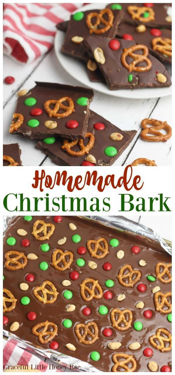 This Easy Christmas Bark recipe is incredibly simple to put together and makes a great holiday treat or gift to give to any family member, neighbor or friend. Find the recipe at gracefullittlehon... #recipe #recipes #dessert   The Effective Pictures We Offer You About christmas quotes   A quality picture can tell you many things. You can find the most beautiful pictures that can be presented to you about  christmas cookies  in this account. When you look at our das... #Bark #Christmas #Easy