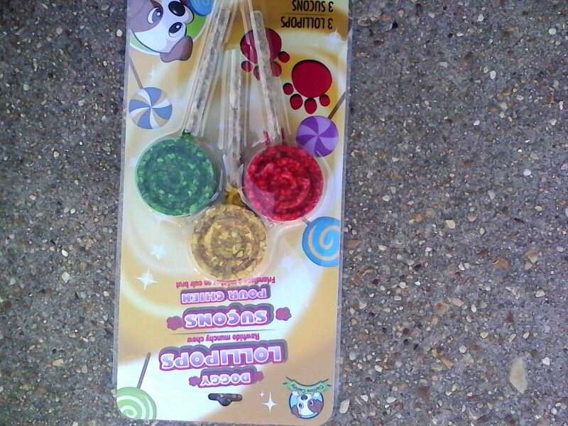 Doggy lollipops awesome