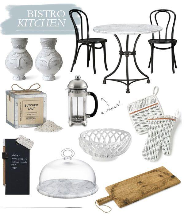 DETAILS // BISTRO KITCHEN French. Bistro. Kitchen. Decor