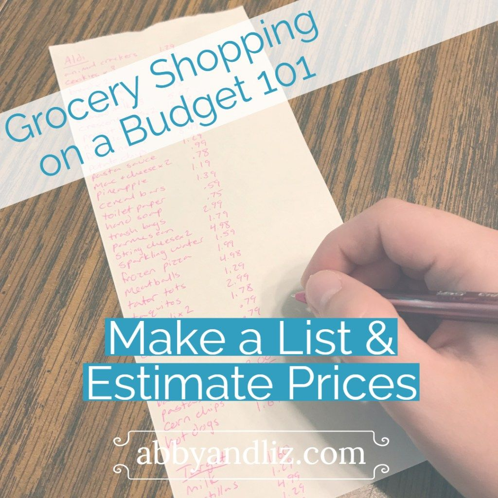 Grocery Budget 101 Grocery Shopping On A Budget With