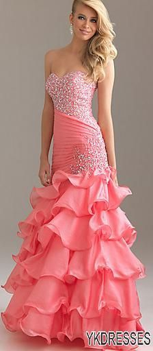 Most beautiful red prom dresses