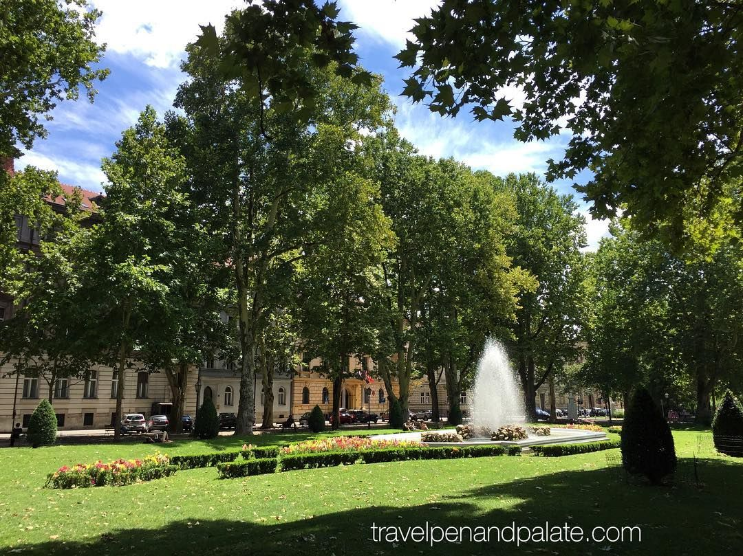 Zrinjevac Park Zagreb Croatia Is Just One Of Many Green Spaces In This Beautiful Historic City This Ph Landscape Photography Culinary Travel Travel Writer