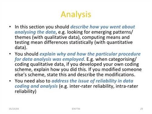 Writing A Methodology For Research Paper Abstract Busines Analysis Page In
