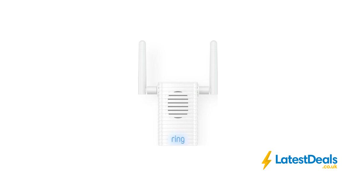Ring Chime Pro Wi Fi Extender Indoor Door Chime 36 With Code At Currys Pc World Indoor Doors Wifi Indoor