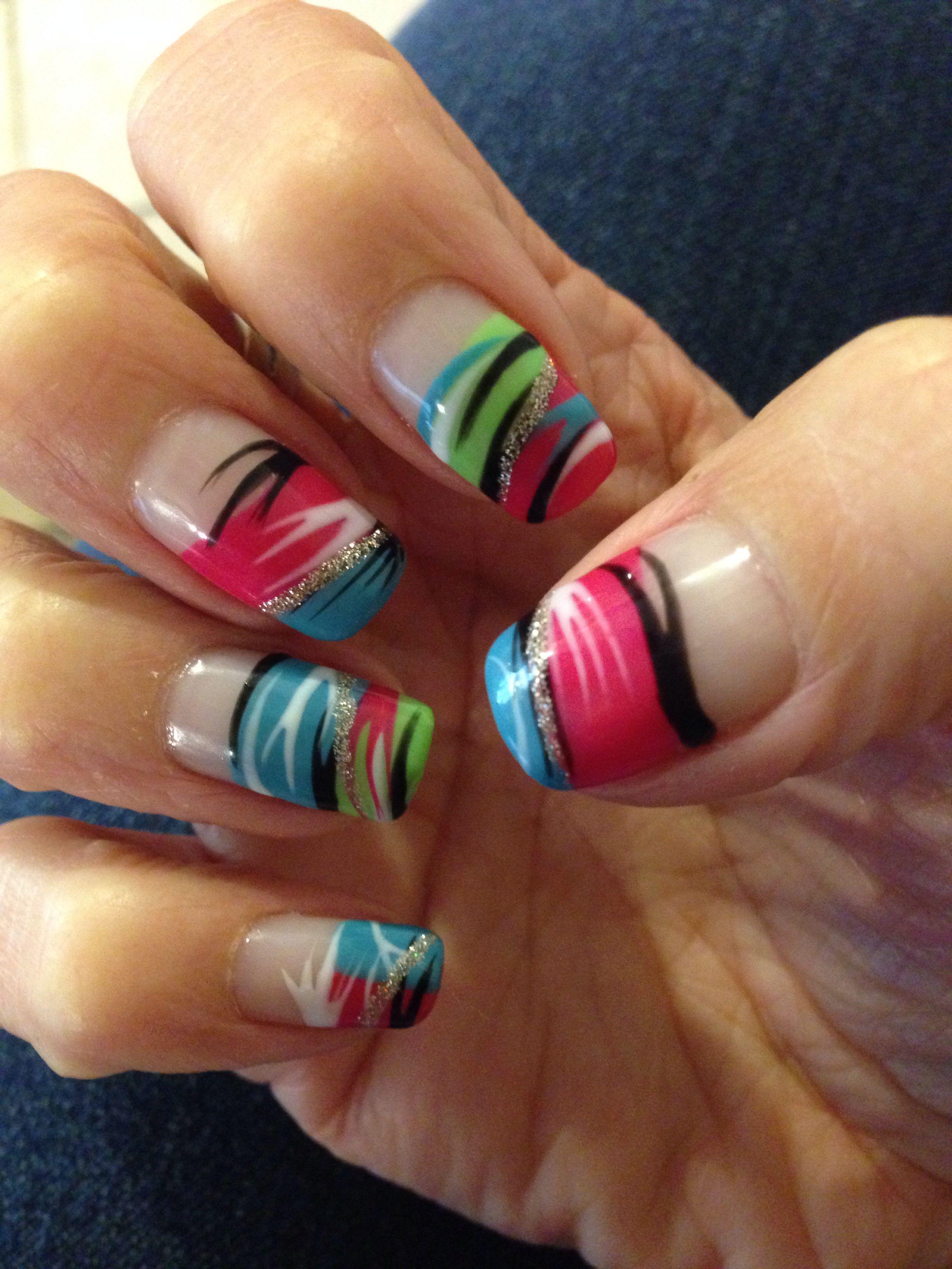 Just A Fun & Cool Gel Nail Design