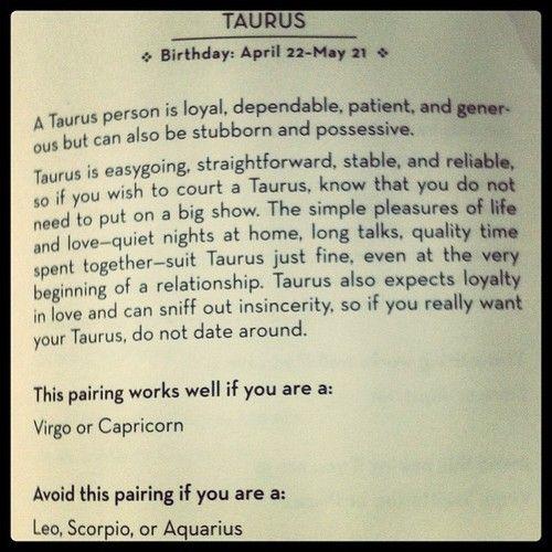 Taurus woman best match