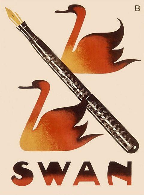 "The Mabie Todd ""Swan Pen"" B2"