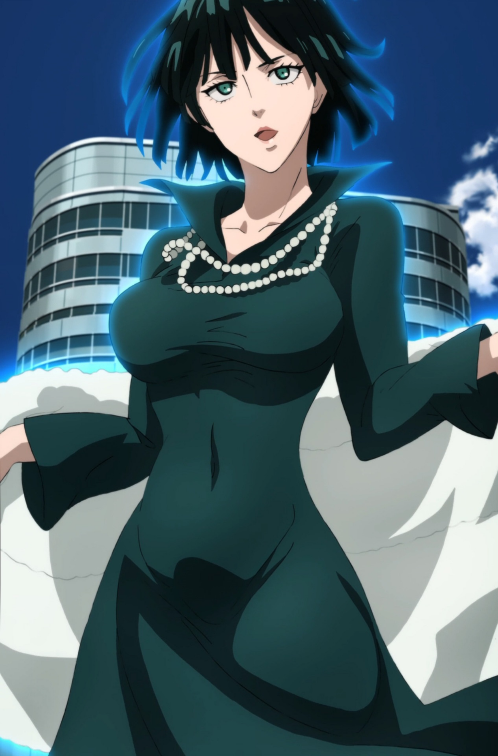 Fubuki One Punch Man season 2 ep 5 by Berganime on
