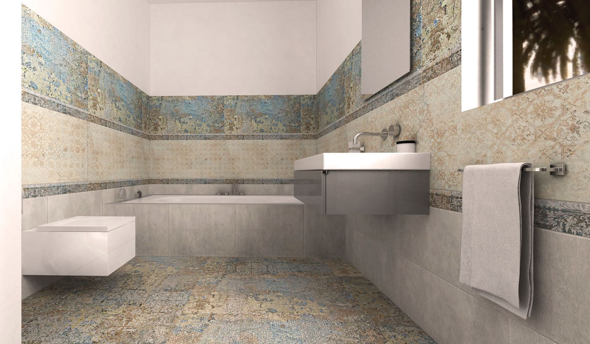 Bagno con aparici carpet vestige bodenbelag bathroom carpet