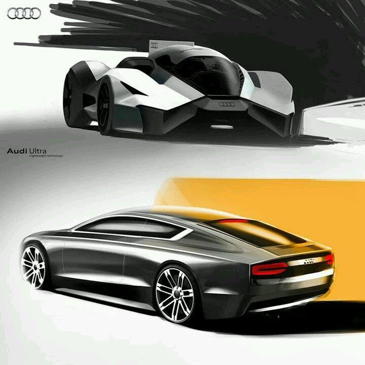 Future Cars: Future Car, Concept Art, Audi Workshop