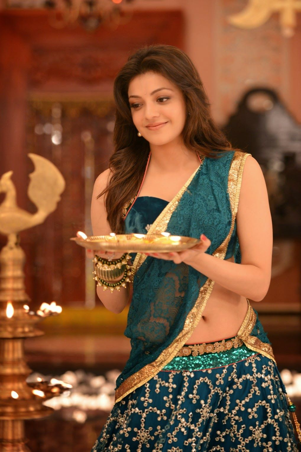 Kajal Agrawal New 2016 Hd Wallpapers Kajal Agarwal Saree Beautiful Indian Actress Kajal Agarwal Bikini