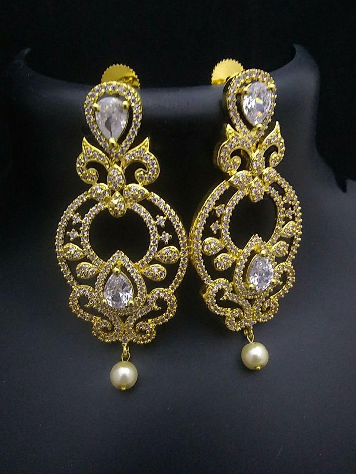 Party Wear Earrings For Wedding