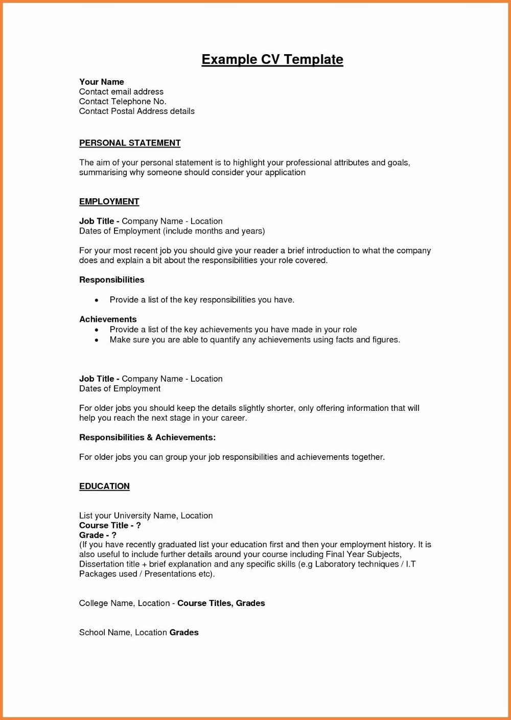 Personal Business Profile Template Business Profile Business Person Templates