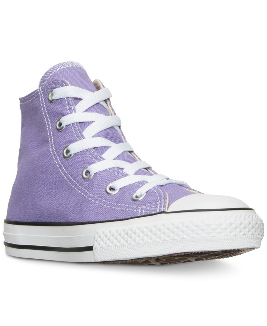 Converse Little Girls  Chuck Taylor All Star Hi Casual Sneakers from Finish  Line 96f692819