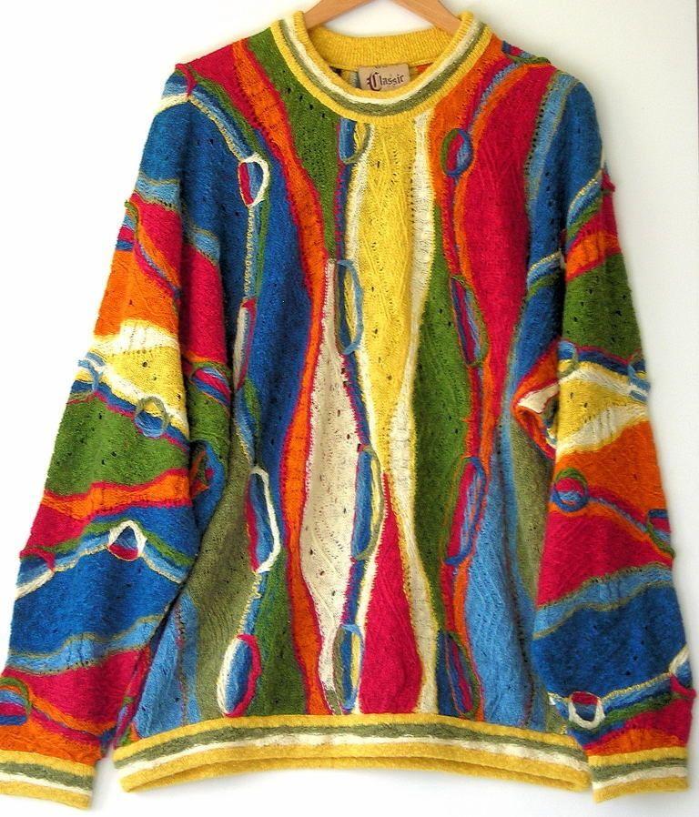 Vintage Coogi Classic Australia Men's Textured Linen