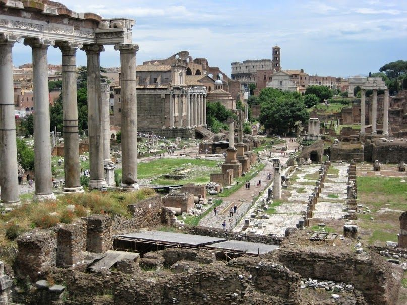 Imperial & Roman Forum one of the archaeological area of this place is one of the richest in the planet, and here you'll feel like you've visited it in the past too.