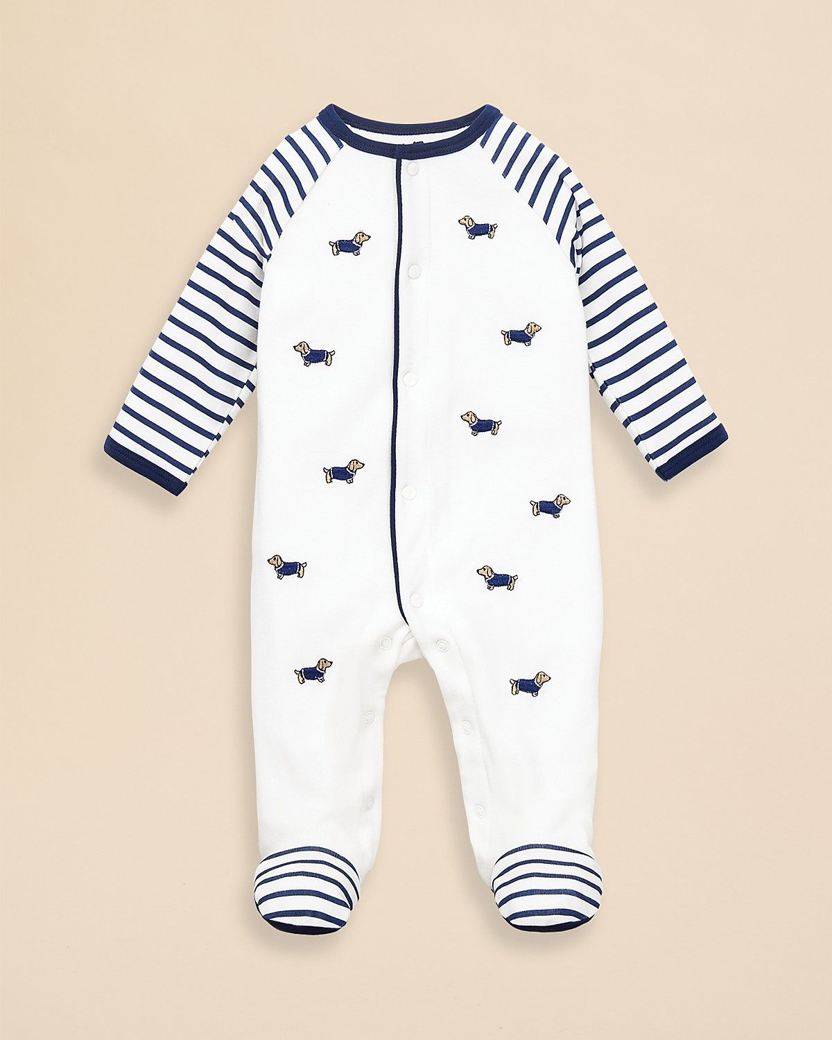 69c36f9e85d8 Little Me Infant Boys  Dachshund Footie - Sizes 0-9 Months ...
