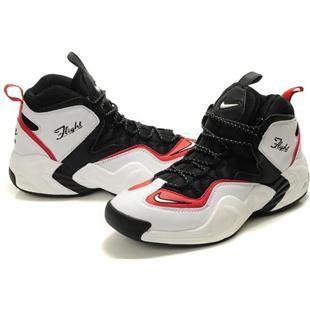 Penny Hardaway Shoes Nike Air GO LWP WhiteBlackRed | Gold