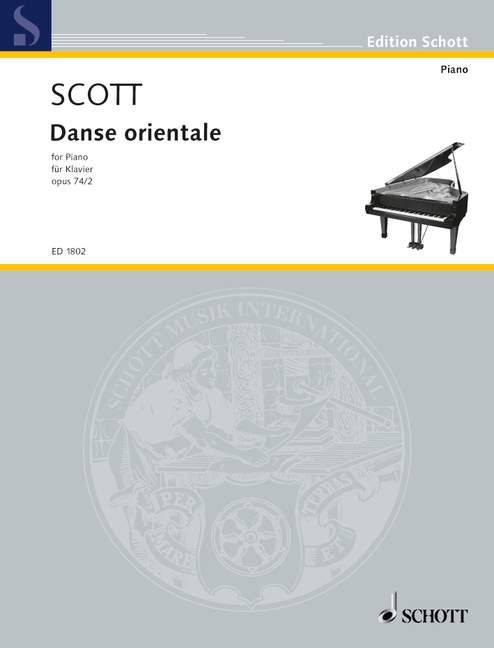 Danse Orientale Cyril Scott Classical Music Concerts Keyboard