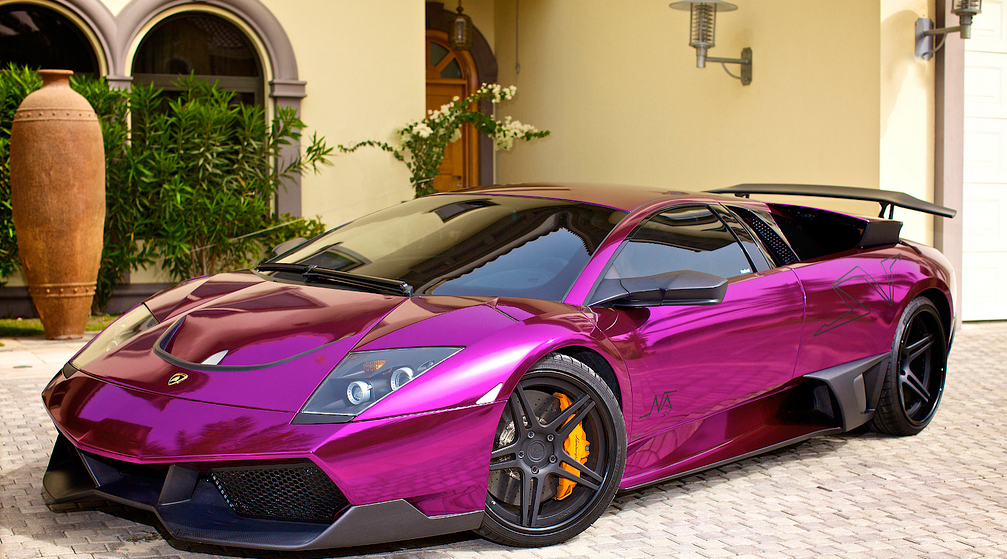 Purple Lamborghini Purple Lamborghini Murcielago Cool Stuff