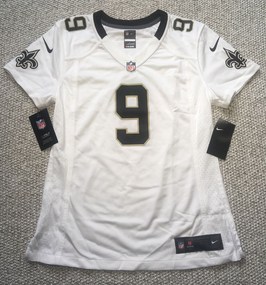 c54d65a0b Nike NFL On Field New Orleans Saints Game Jersey Drew Brees Womens XXL 2XL  NWT   52.95 End Date  Friday Dec-7-2018 16 33 06 PST Buy It Now…