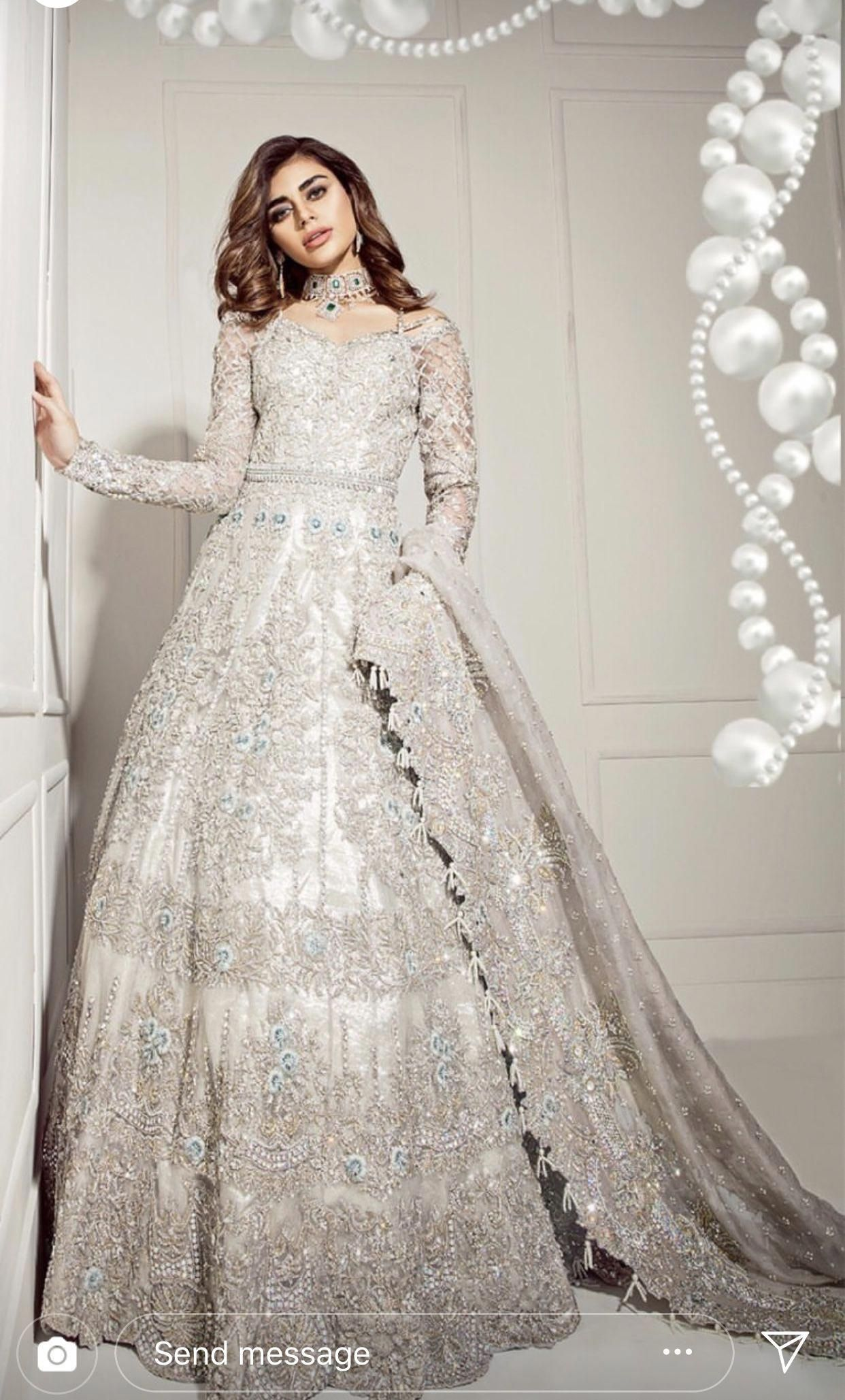 Pakistani Wedding Pakistani Fashion Ivory Wedding Dress Asian Bridal Dresses Indian Bridal Dress Pakistani Wedding Dresses