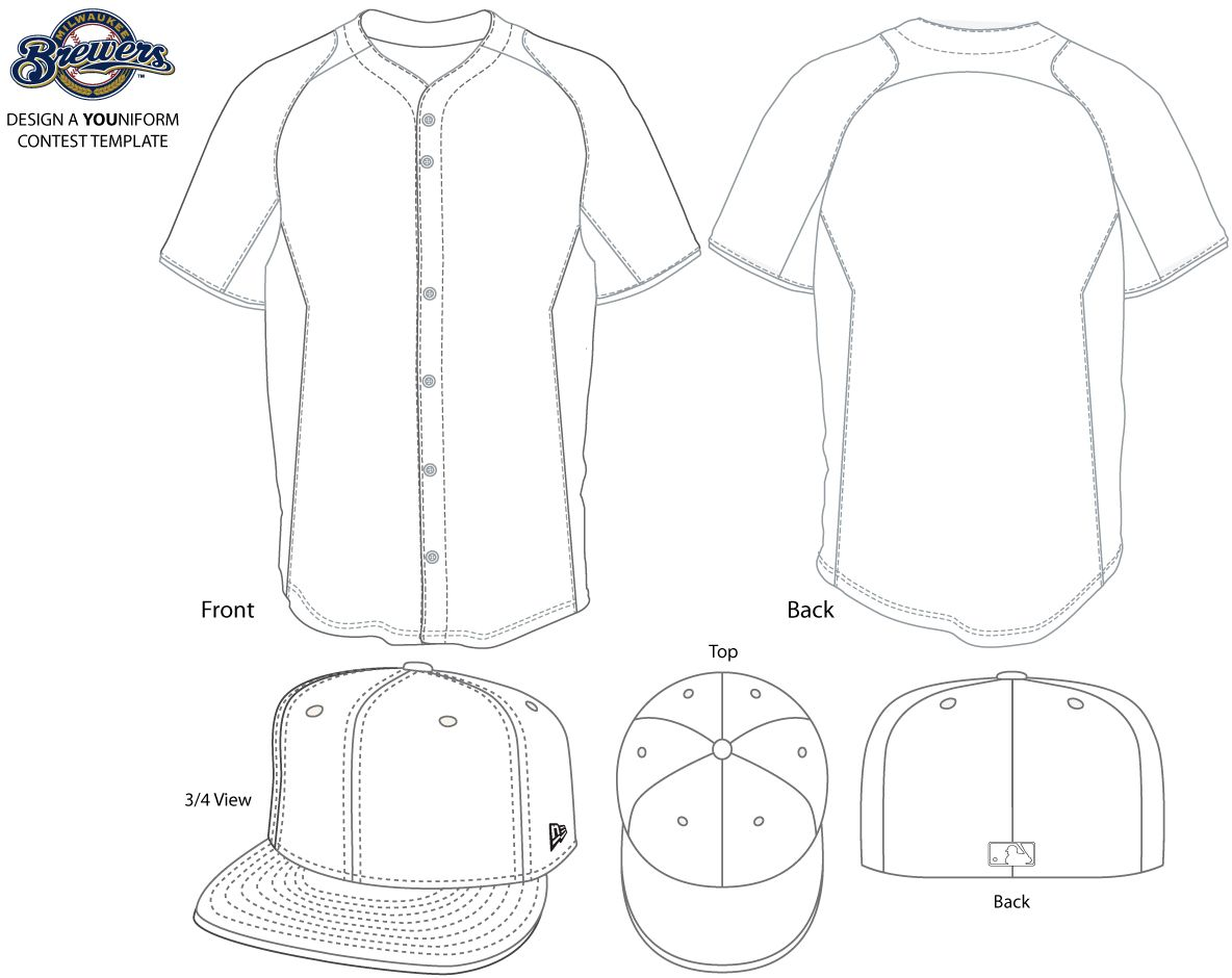 Baseball Jersey Template Free Coloring Pages Coloring Pages