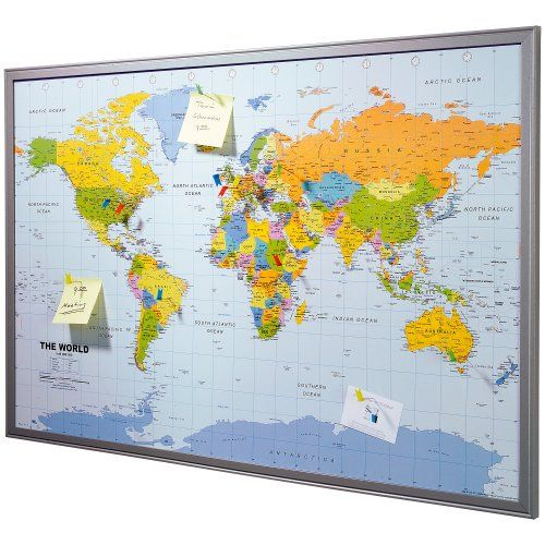 Pinboard map of the world 90 x 60 cm made of cork includes 12 pinboard map of the world 90 x 60 cm made of cork includes gumiabroncs Gallery
