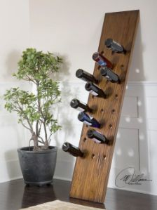 Solid Mahogany Wood Wine Rack With Images Wood Wine Racks