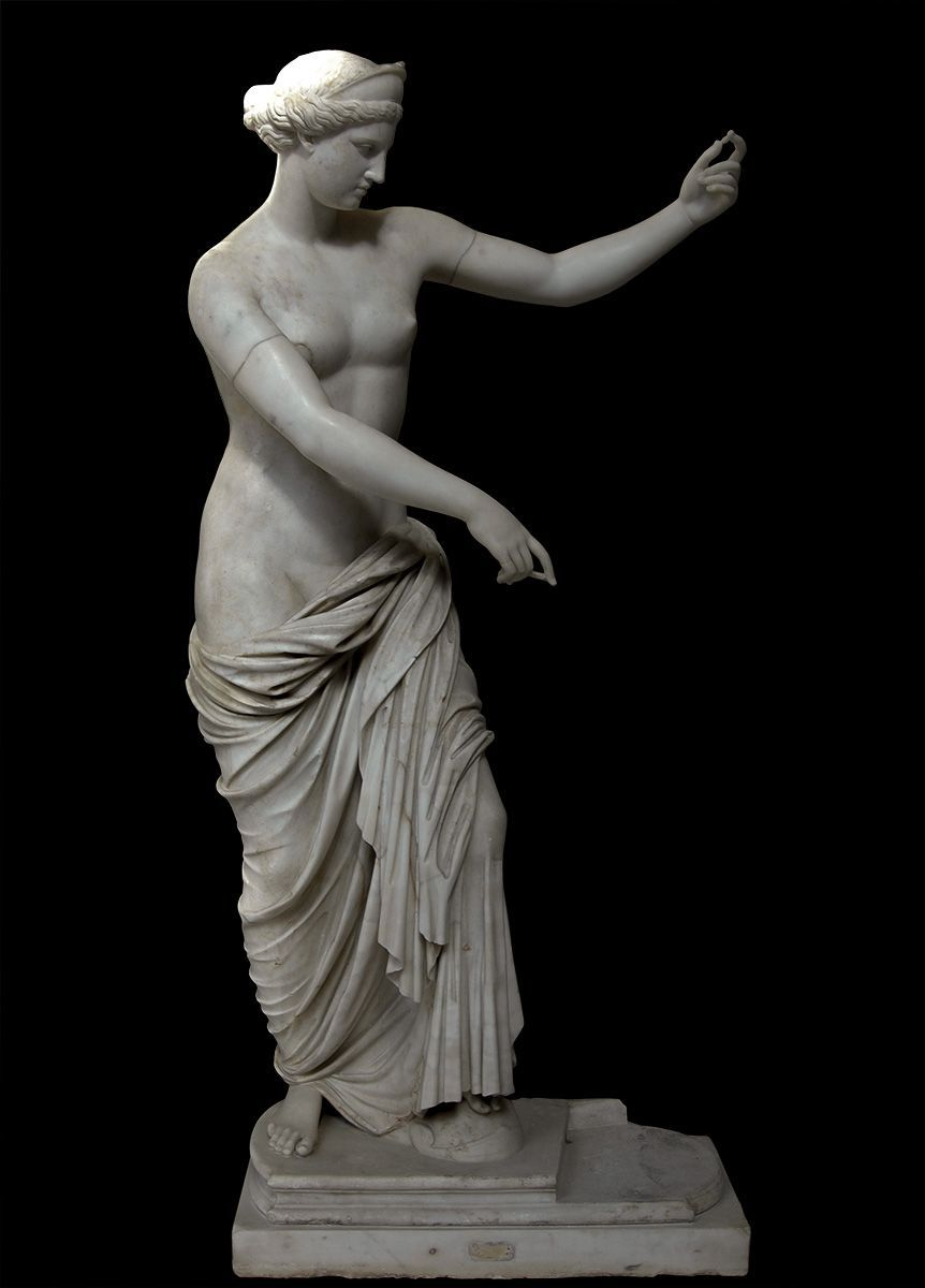 Aphrodite White Fine Grane Marble First Half Of The 2nd Century