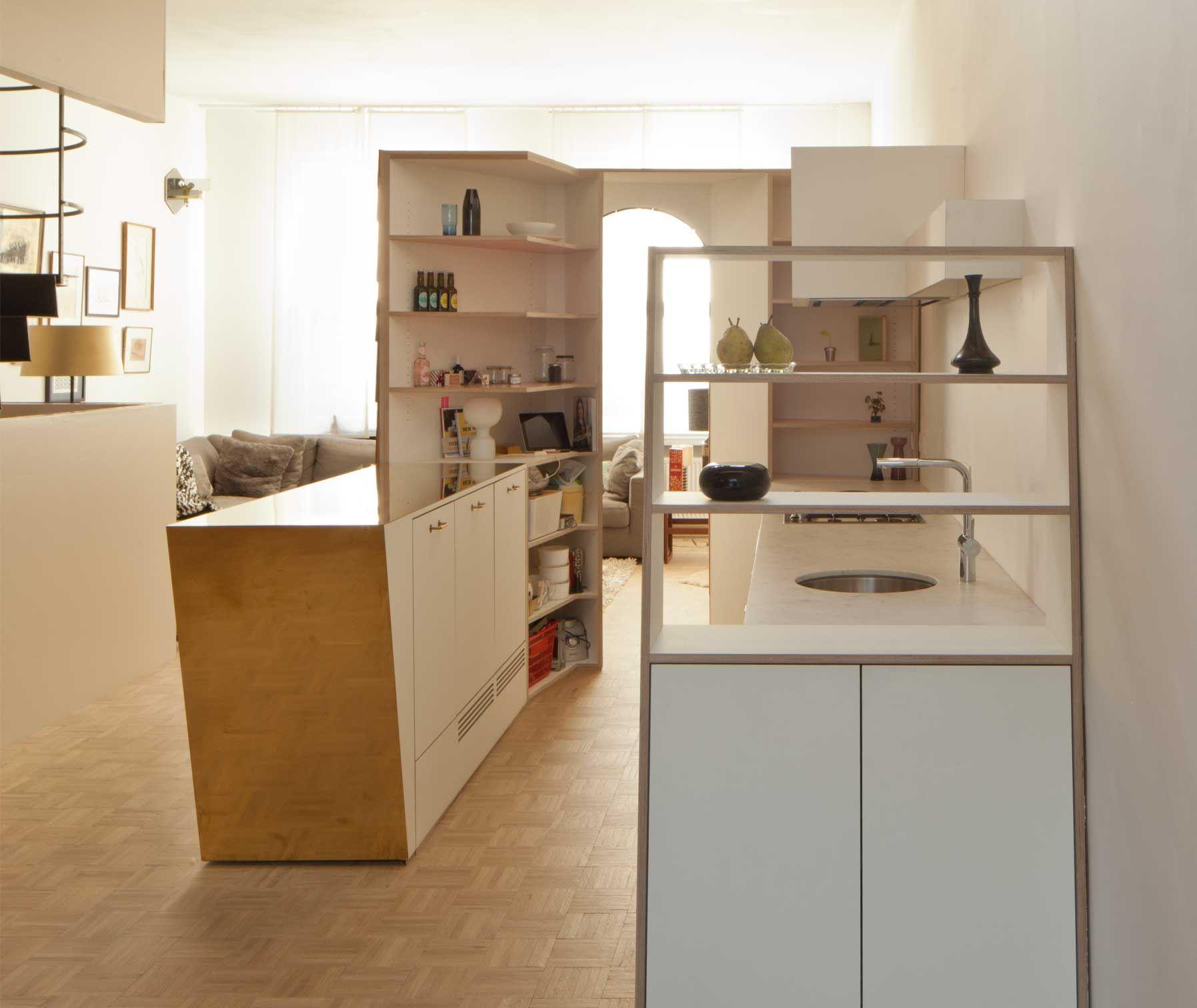 Atelier watashiwa kitchen antwerp kitchen brass space pinterest