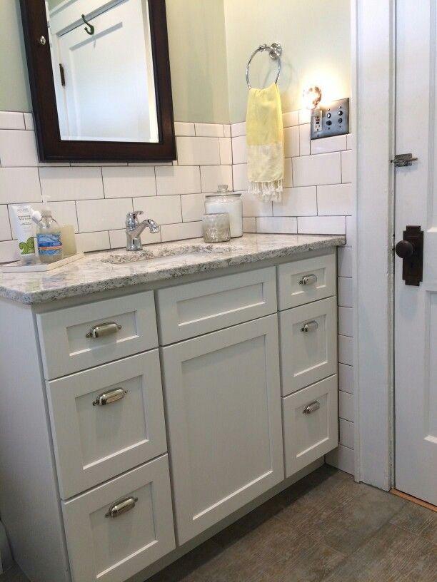 Bathroom Cabinet Styles bath - homecrest sedona cabinets door style, alpine finish vanity