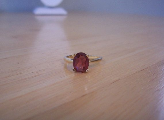 Beautiful Natural Madeira Citrine Ring in 14 Karat by NXCESSORIES