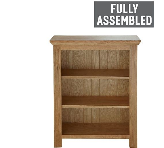 Buy Collection Knightsbridge Small Bookcase Oak Oak Veneer At