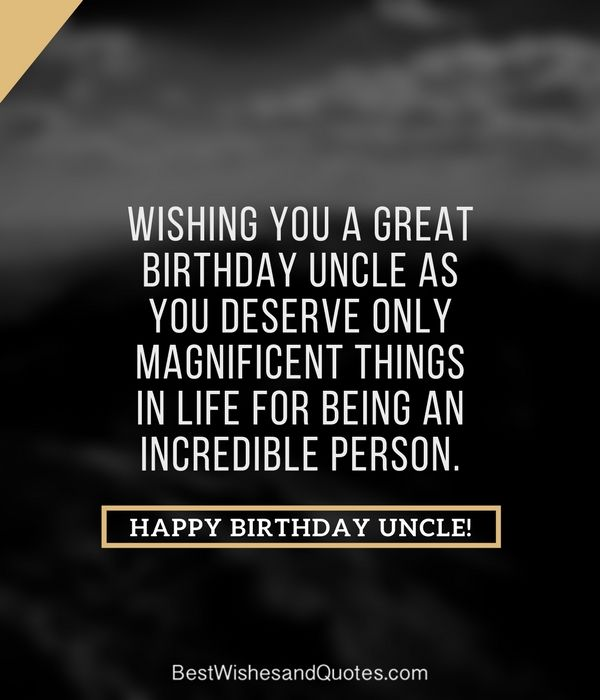 Happy Birthday Quotes For Uncle In Hindi: Happy Birthday Uncle