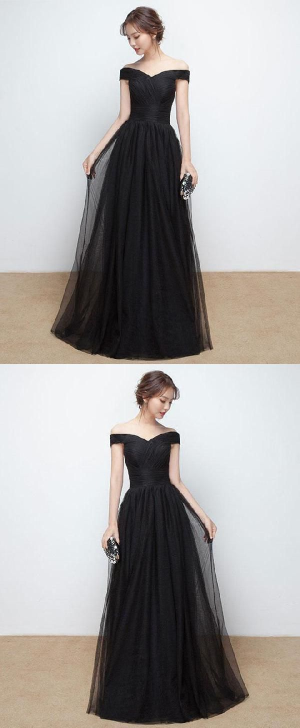 Long prom dresses prom dresses black luu in prom