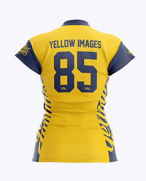 Download Women S Volleyball Jersey Mockup Back View In Apparel Mockups On Yellow Images Object Mockups Volleyball Jerseys Volleyball Kit Women Volleyball