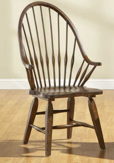 Attic Heirlooms Rustic Oak Windsor Arm Chair Broyhill Attic Heirlooms Rustic Oak Collection Home Gallery Store Dining Arm Chair Chair Dining Room Table Set