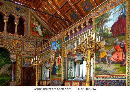 Neuschwanstein castle interior germany june 11 for Fussen design hotel