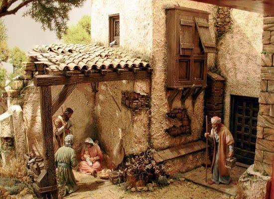 Imagen relacionada portales pinterest belenes - Portales de belen originales ...