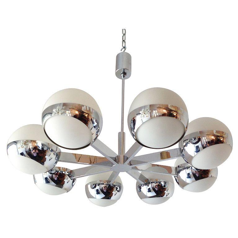 Italian 1970 S Bracket Chandelier Cool Light Fixtures Ceiling Mounted Lights Chandelier